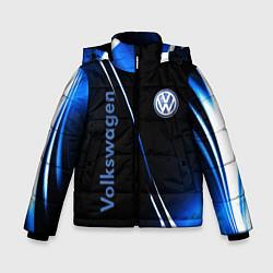 Куртка зимняя для мальчика VOLKSWAGEN цвета 3D-черный — фото 1