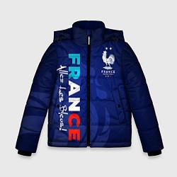 Куртка зимняя для мальчика Сборная Франции цвета 3D-черный — фото 1
