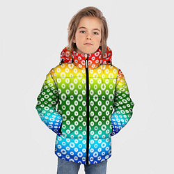 Куртка зимняя для мальчика Для фотографов RGB Диафрагма цвета 3D-черный — фото 2