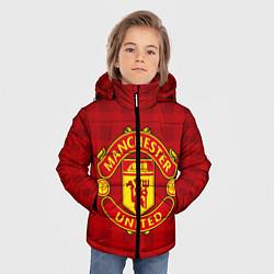 Куртка зимняя для мальчика Manchester United - фото 2