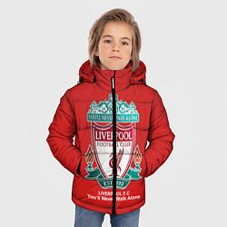 Детская зимняя куртка для мальчика с принтом Liverpool, цвет: 3D-черный, артикул: 10063903406063 — фото 2