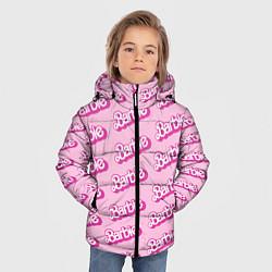 Куртка зимняя для мальчика Barbie Pattern цвета 3D-черный — фото 2