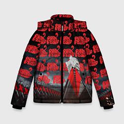 Куртка зимняя для мальчика Pink Floyd Pattern цвета 3D-черный — фото 1