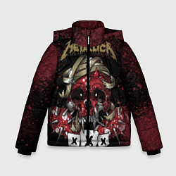 Куртка зимняя для мальчика Metallica: XXX - фото 1