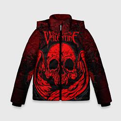 Куртка зимняя для мальчика BFMV: Red Skull цвета 3D-черный — фото 1