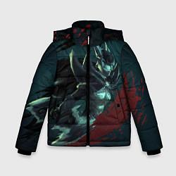 Куртка зимняя для мальчика Phantom Assassin цвета 3D-черный — фото 1