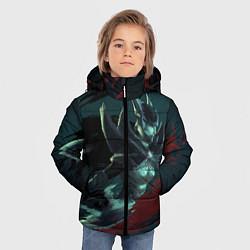Детская зимняя куртка для мальчика с принтом Phantom Assassin, цвет: 3D-черный, артикул: 10065049106063 — фото 2