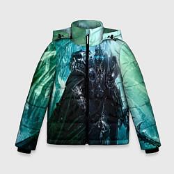 Куртка зимняя для мальчика Король Лич цвета 3D-черный — фото 1