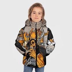 Куртка зимняя для мальчика Metallica: Guitar Hero - фото 2
