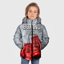 Куртка зимняя для мальчика Boxing Russia - фото 2