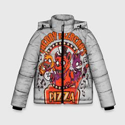 Куртка зимняя для мальчика Freddy Pizza цвета 3D-черный — фото 1