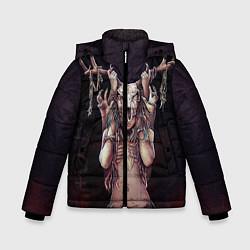 Куртка зимняя для мальчика Хранительница леса цвета 3D-черный — фото 1
