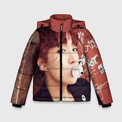Куртка зимняя для мальчика J-Hope цвета 3D-черный — фото 1