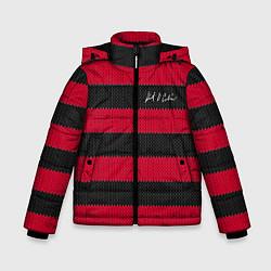 Куртка зимняя для мальчика Автограф Курта Кобейна - фото 1