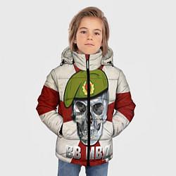 Куртка зимняя для мальчика Череп: ВВ МВД цвета 3D-черный — фото 2