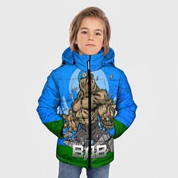 Детская зимняя куртка для мальчика с принтом ВДВ, цвет: 3D-черный, артикул: 10077774806063 — фото 2