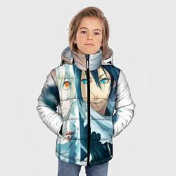 Куртка зимняя для мальчика Бездомный бог цвета 3D-черный — фото 2