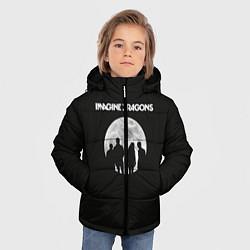 Детская зимняя куртка для мальчика с принтом Imagine Dragons: Moon, цвет: 3D-черный, артикул: 10078925606063 — фото 2