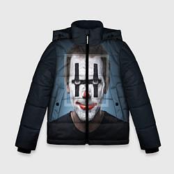 Куртка зимняя для мальчика Clown House MD цвета 3D-черный — фото 1