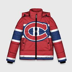 Куртка зимняя для мальчика Montreal Canadiens цвета 3D-черный — фото 1