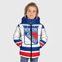 Куртка зимняя для мальчика New York Rangers цвета 3D-черный — фото 2