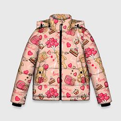 Куртка зимняя для мальчика Медвежата цвета 3D-черный — фото 1