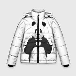 Зимняя куртка для мальчика Panda Love