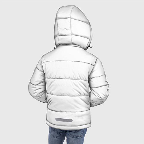 Зимняя куртка для мальчика Panda Love / 3D-Черный – фото 4