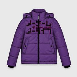 Куртка зимняя для мальчика No game no life Sora цвета 3D-черный — фото 1