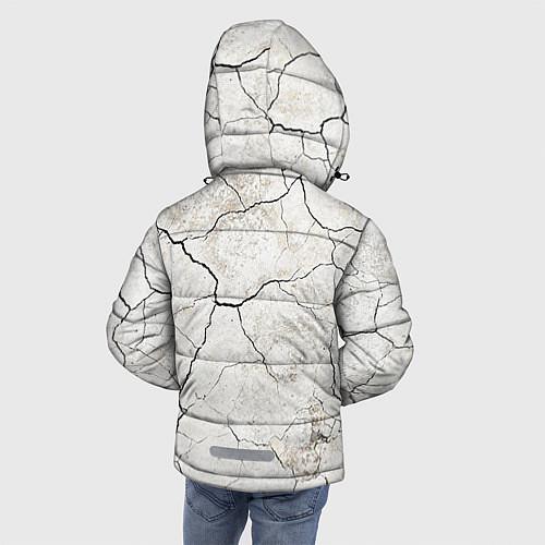 Зимняя куртка для мальчика Train hard / 3D-Черный – фото 4