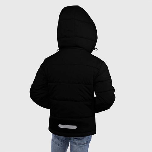 Зимняя куртка для мальчика Есенин Ч/Б / 3D-Черный – фото 4