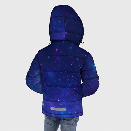 Зимняя куртка для мальчика Лев SWAG / 3D-Черный – фото 4