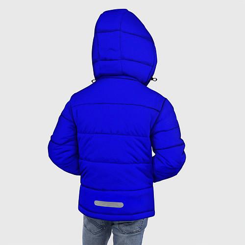 Зимняя куртка для мальчика Kiss Show / 3D-Черный – фото 4