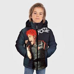 Куртка зимняя для мальчика Gerard Way цвета 3D-черный — фото 2