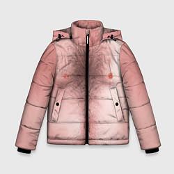 Куртка зимняя для мальчика Загорелый торс цвета 3D-черный — фото 1
