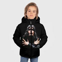 Куртка зимняя для мальчика Фредди Меркьюри цвета 3D-черный — фото 2