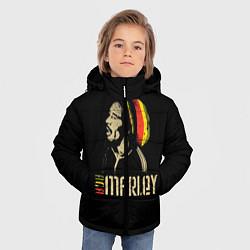 Куртка зимняя для мальчика Bob Marley цвета 3D-черный — фото 2