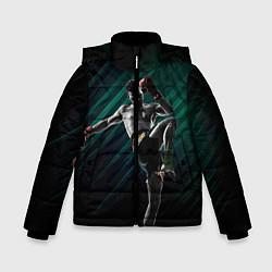 Куртка зимняя для мальчика Muay thai kick цвета 3D-черный — фото 1