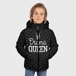Куртка зимняя для мальчика Drama queen цвета 3D-черный — фото 2