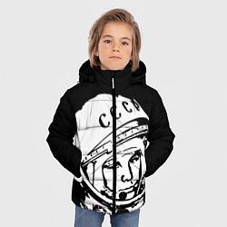 Куртка зимняя для мальчика Гагарин цвета 3D-черный — фото 2
