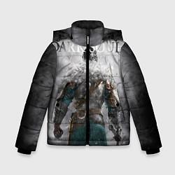 Куртка зимняя для мальчика Dark Souls: Winter цвета 3D-черный — фото 1