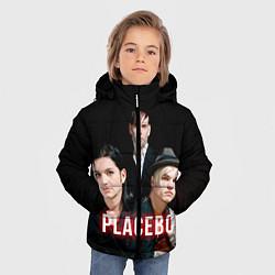 Куртка зимняя для мальчика Placebo Guys цвета 3D-черный — фото 2