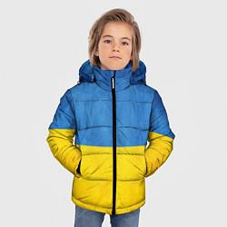 Куртка зимняя для мальчика Украина цвета 3D-черный — фото 2
