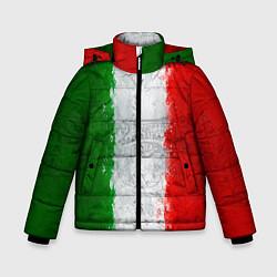 Куртка зимняя для мальчика Italian цвета 3D-черный — фото 1