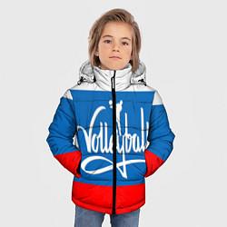 Куртка зимняя для мальчика Волейбол 27 цвета 3D-черный — фото 2