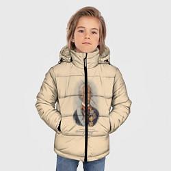 Куртка зимняя для мальчика Александр Суворов 1730-1800 цвета 3D-черный — фото 2