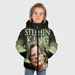 Детская зимняя куртка для мальчика с принтом Bestselling Author, цвет: 3D-черный, артикул: 10095786806063 — фото 2