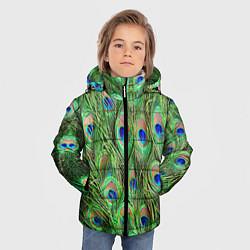 Куртка зимняя для мальчика Life is beautiful цвета 3D-черный — фото 2
