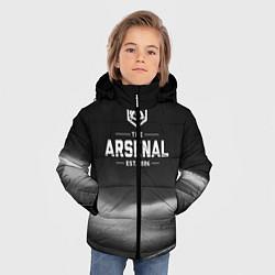 Куртка зимняя для мальчика The Arsenal 1886 цвета 3D-черный — фото 2