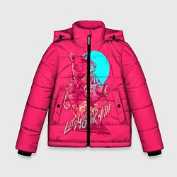 Куртка зимняя для мальчика Let's get this over with цвета 3D-черный — фото 1
